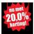 20 korting op Phlip digi-print winkelwagen munten