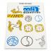 Phake tatoeages 150 x 100 mm voorbeeld